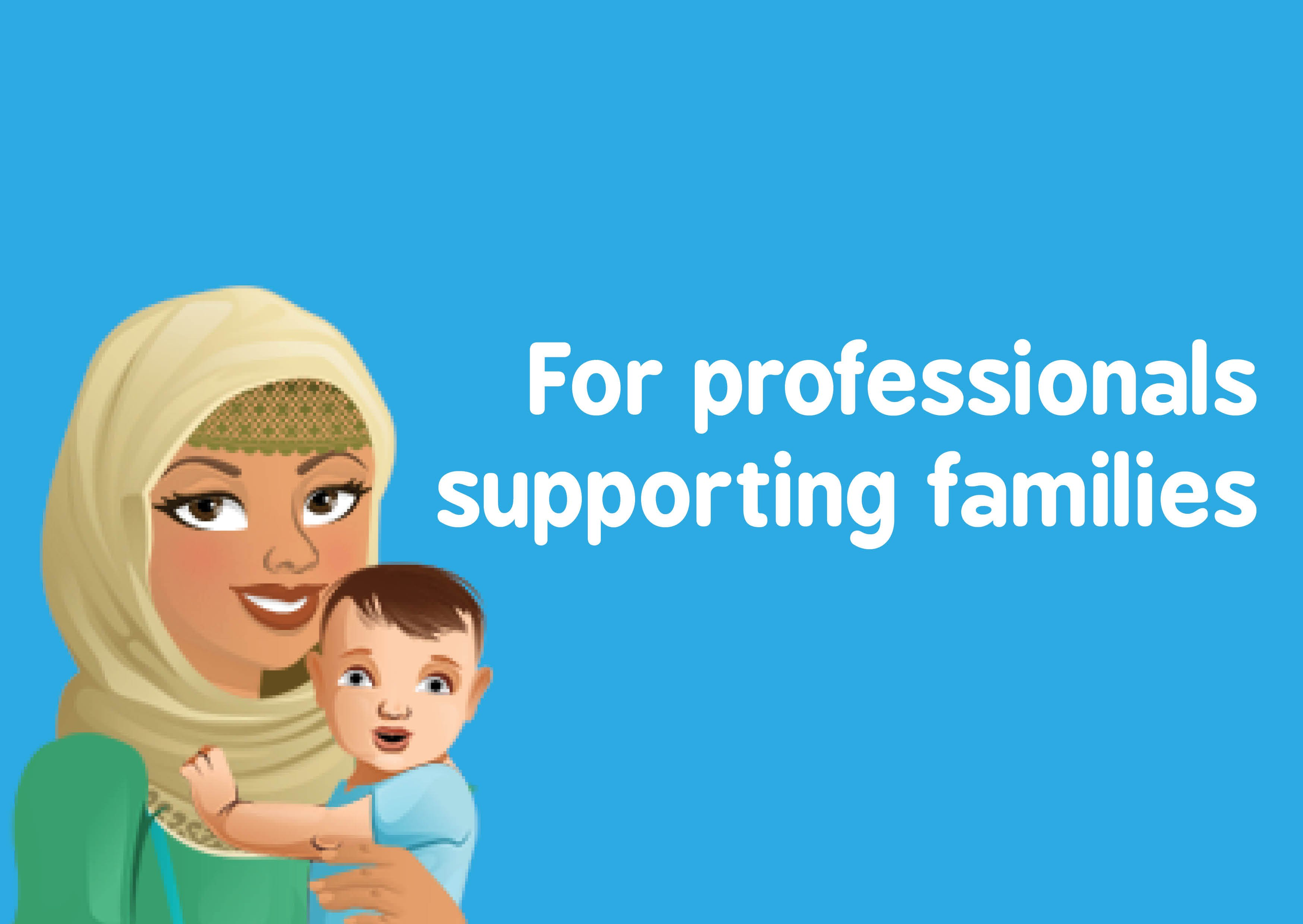 For professionals supporting families with Baby Buddy