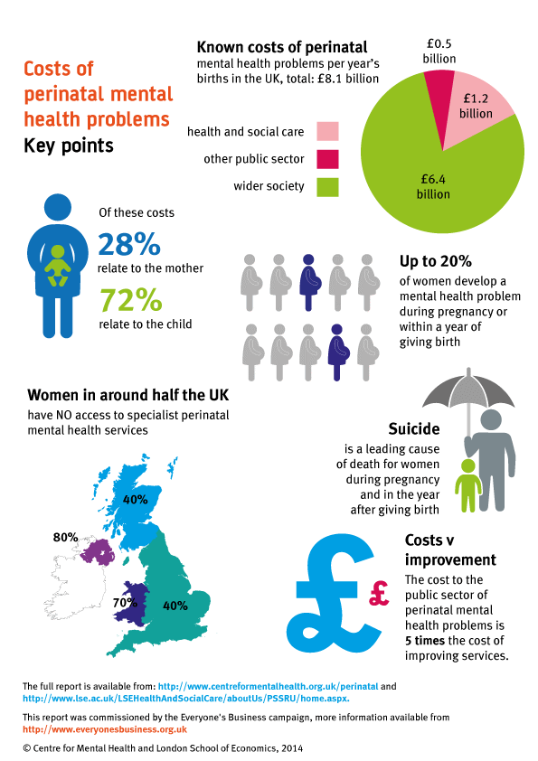 The costs of maternal mental health problems   Best Beginnings