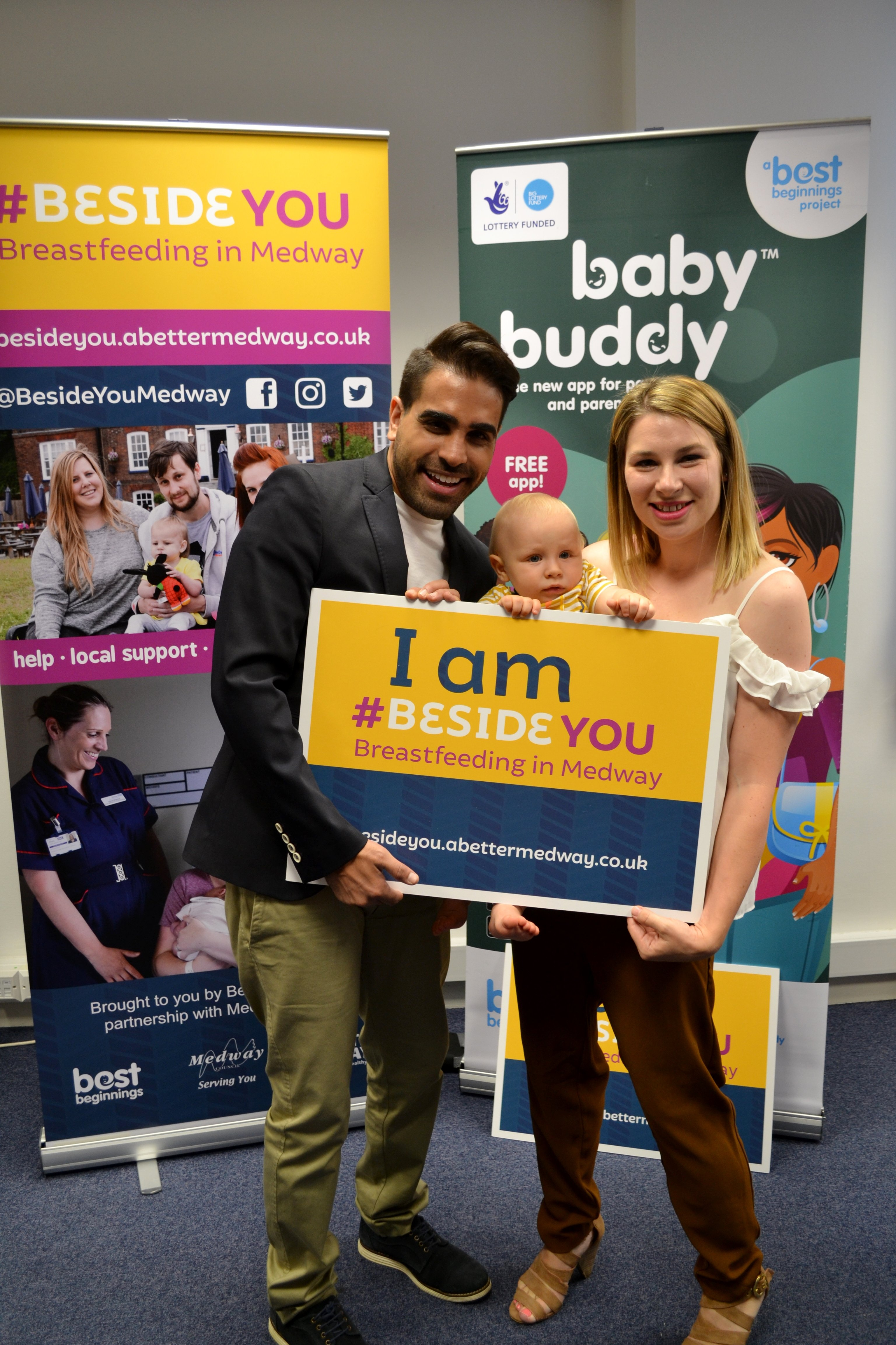 Dr Ranj, #BesideYou, Breastfeeding in Medway