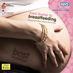 Harrow & Northwick's 'From bump to breastfeeding' cover