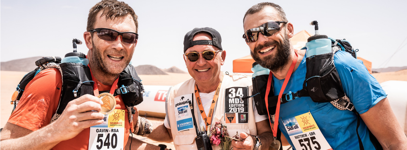 Taking on the hardest foot race in the world...the Marathon des Sables