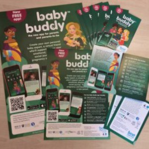 Baby Buddy Leaflets and Posters