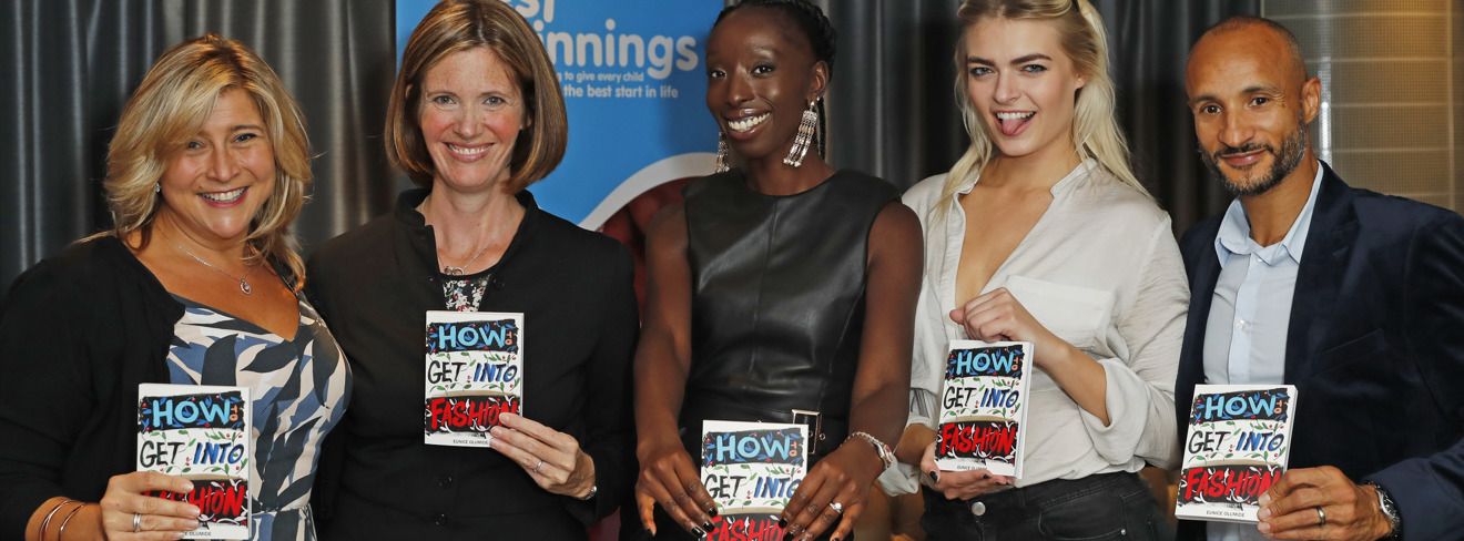 Best Beginnings' ambassador  Eunice Olumide MBE launches her new book!