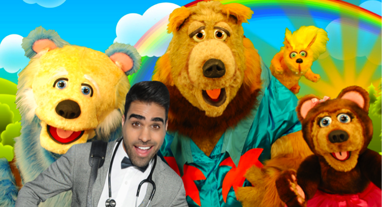 Dr Ranj's Teddy Bear Bubble - Half Term Show!