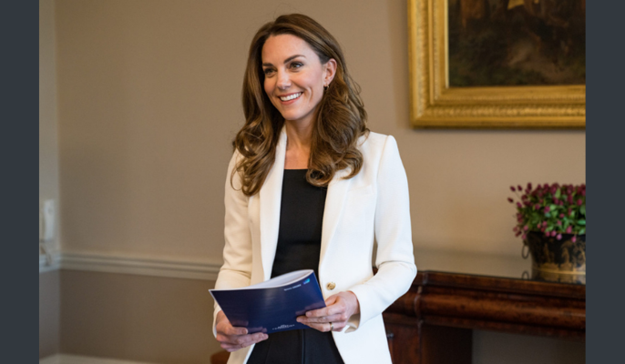 The Duchess of Cambridge unveils findings of the biggest ever UK study on the early years